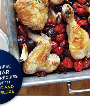 Roasted-chicken-tomatoes-olives