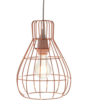 Marvelous Caged Pendant Light