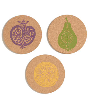 harvest-fruit-stamped-cork-trivets