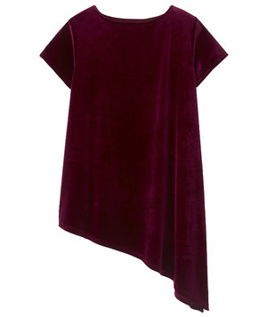 asymmetric-velour-t-shirt