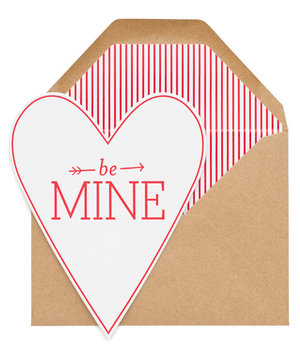 be-mine-heart-card