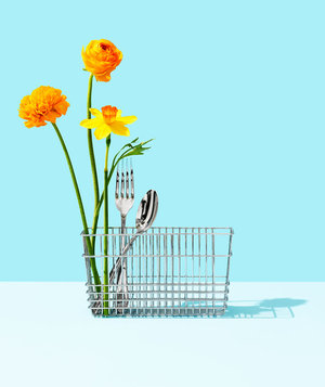 flowers-fork-dishwasher-cutlery-bin