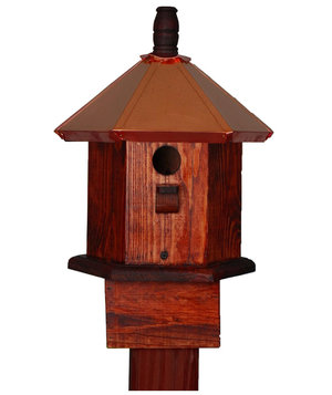 copper-bird-house