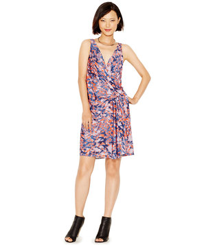 rachel-roy-printed-faux-wrap-dress