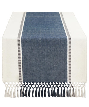 seaside-stripe-fringed-table-runner