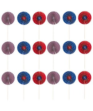 americana-pinwheel-food-pick-set