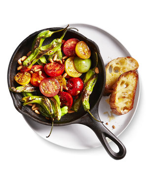 Charred Tomatoes