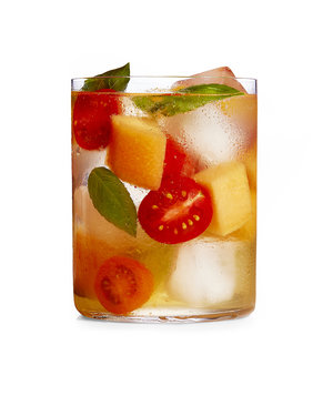 Tomato and Cantaloupe Shrub