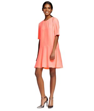target-crepe-short-sleeve-shift-dress