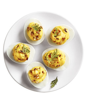 Duxelles Deviled Eggs