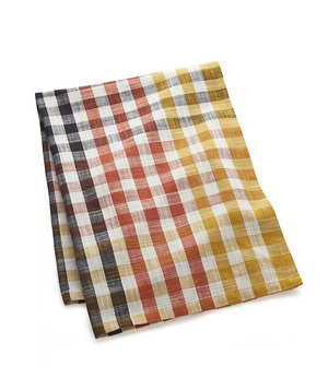 warm-orange-yellow-check-dish-towel