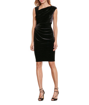 lauren-ralph-lauren-stretch-velvet-sheath-dress