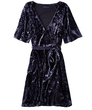american-eagle-outfitters-velvet-tie-dress