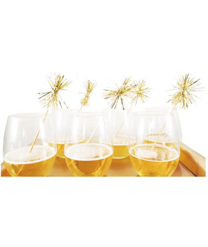 gold-tinsel-drink-stirrers