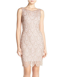 embellished-mesh-sheath-dress
