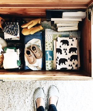 drawer-baby-things