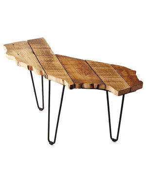 barnwood-side-table