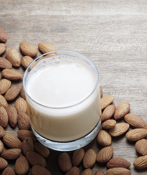glass-almond-milk