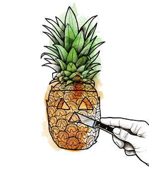 carving-pineapple