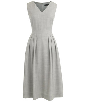 vneck-wool-dress