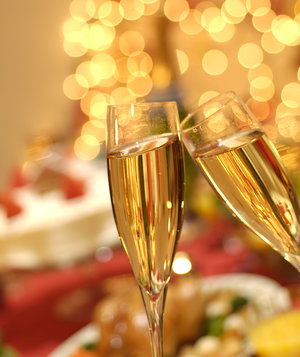 champagne-toast-holiday-lights