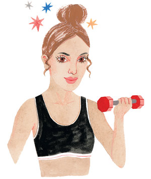 workout-hair-topknot-waves