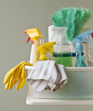 cleaning-supplies-dish-towel