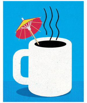 coffee-paper-umbrella