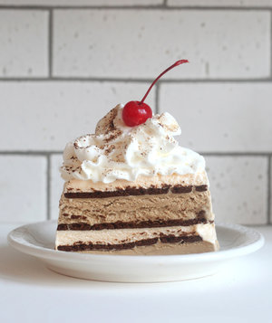 How to make the worlds easiest ice cream cake real simple espresso ice cream cake ccuart Gallery