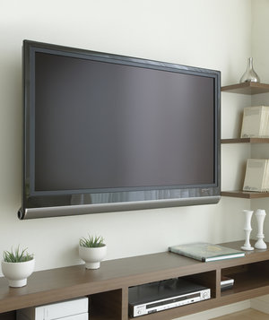 flat-screen-television-media-console-living-room