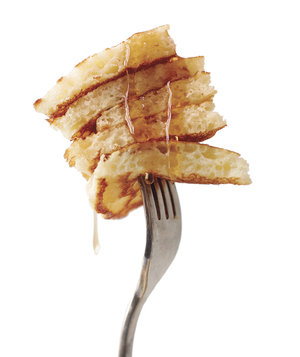 pancakes-syrup-fork