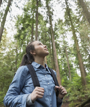 woman-forest-hiking
