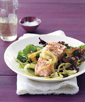 salmon-fennel-vinaigrette