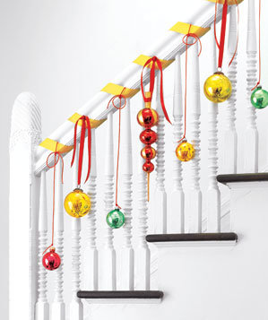 Image result for banister decorating