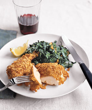 cornflake-chicken-spinach