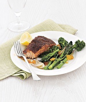 salmon-vegetables