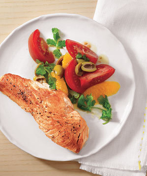 seared-salmon-oranges-olives