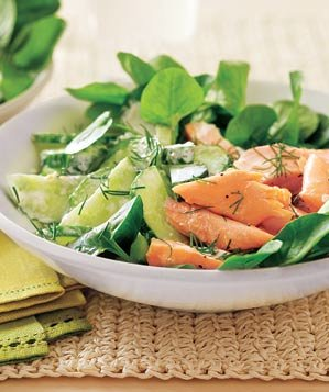 salmon-watercress-salad