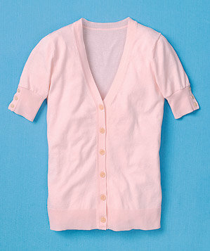 pink-short-sleeve-sweater