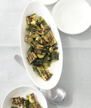 Grilled Zucchini Salad With Lemon and Scallions Recipe ...