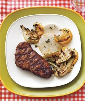 grilled-steak-fennel-lemon-mozzarella