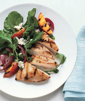 chicken-grilled-peaches