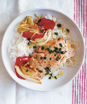 roasted-salmon-peppers-caper