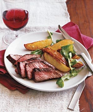 steak-roasted-potatoes-arugula