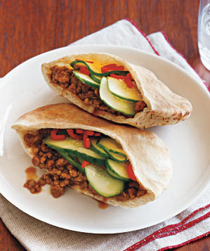 gingery-pork-cucumber-pitas