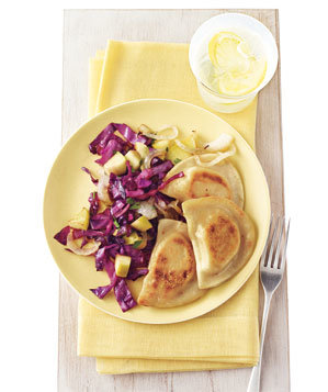 pierogi-red-cabbage