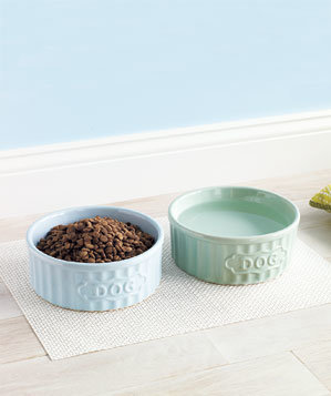 dog-food-water-bowls