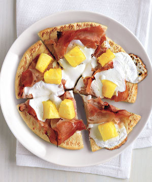 ham-pineapple-pita-pizzas