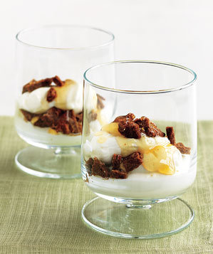 yogurt-crumbles-gingersnaps-honey