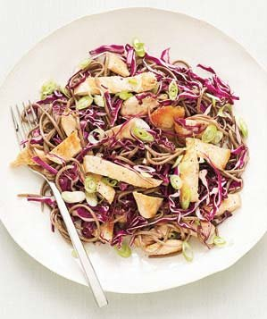 Soba Salad With Chicken and Cabbage Recipe | Real Simple